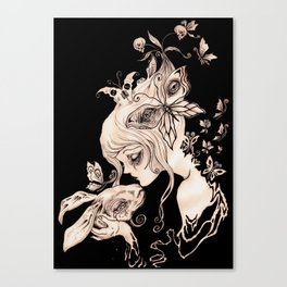 Alice Dreaming Canvas Print
