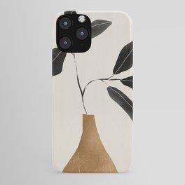 minimal plant 6 iPhone Case