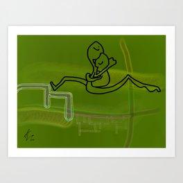 Biological Love Art Print