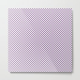 Dewberry Polka Dots Metal Print