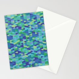 Pointy-Oceania colorway Stationery Cards