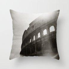 { Colosseum } Throw Pillow