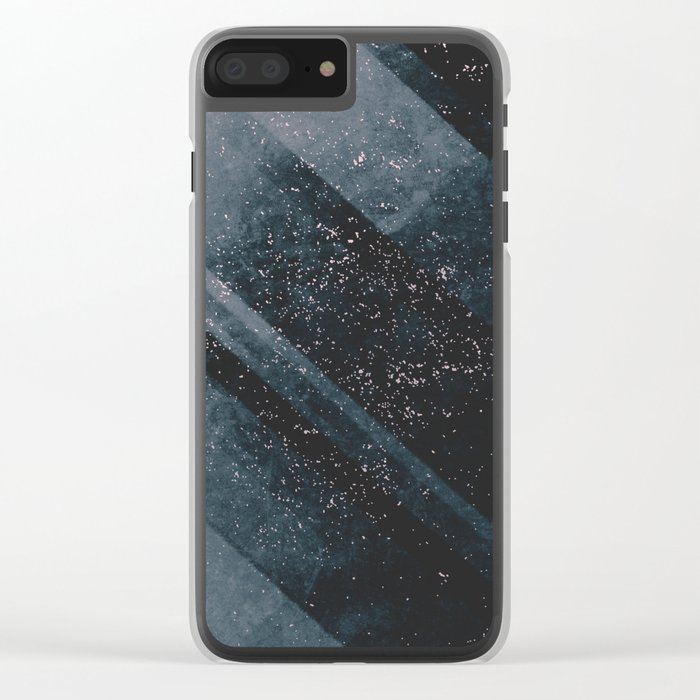 Magic Rays Clear iPhone Case