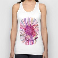 forever young Tank Tops featuring FOREVER YOUNG by flaviasorr