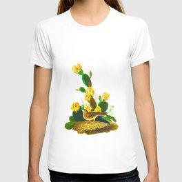 Grass Finch, or Bay-winged Bunting John James Audubon Birds of America Scientific Illustration T-shirt
