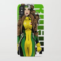 rogue iPhone & iPod Cases featuring Rogue by Genevieve Kay