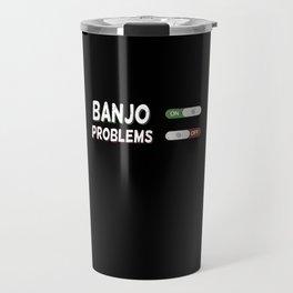 Banjo Player Enthusiast Gift Travel Mug