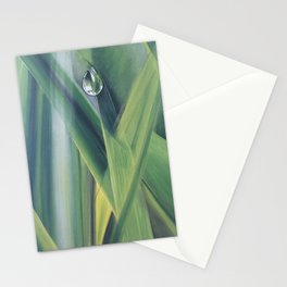 A drop of water Stationery Cards