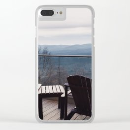 You Can Sit With Me Clear iPhone Case