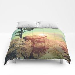 Dilophosaurus Comforters