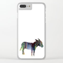 donkey Clear iPhone Case