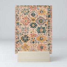 Oriental Vintage Carpet Design Mini Art Print