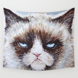 Tard the cat Wall Tapestry