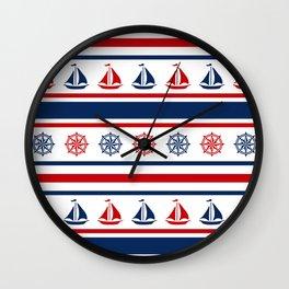 Nautical design 2 Wall Clock