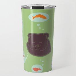 Grizzly dreams Travel Mug