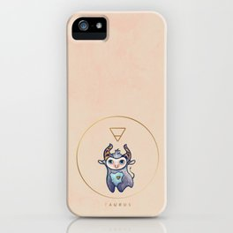 Baby Taurus - Baby Zodiac Collection iPhone Case