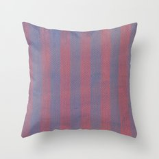 Worn Stripes Throw Pillow