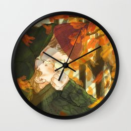 Isak+Even x Autumn Wall Clock