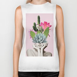 Cactus Lady Biker Tank