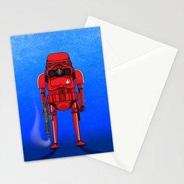 Marijuana trooper Stationery Cards