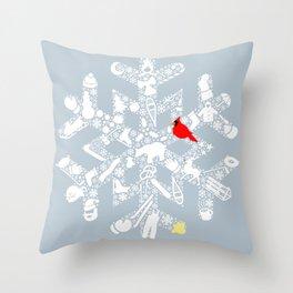 Actual Special Snowflake Throw Pillow