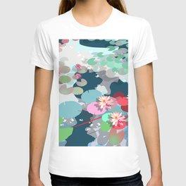 Aquatic garden T-shirt