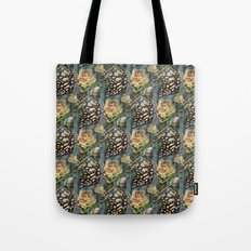Butterflies and Roses Tote Bag