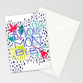 Bisous Stationery Cards