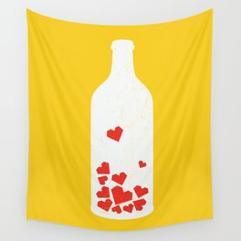 Message in a bottle Wall Tapestry