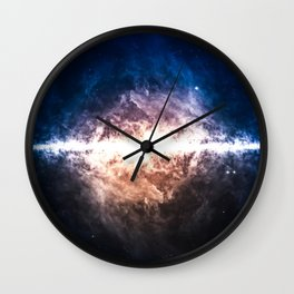 Star Field in Deep Space Wall Clock