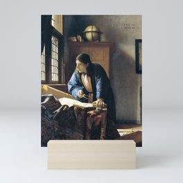 Johannes Vermeer The Geographer Mini Art Print