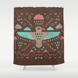 The Legend of Thunderbird Shower Curtain