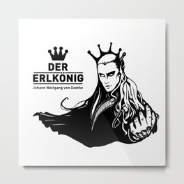 Der Erlkönig Metal Print