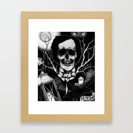 Edgar Allan Poe Nevermore Framed Art Print