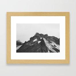 Broken Top Mountain -- Main Spire Framed Art Print