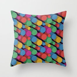 3D X Pipes II Throw Pillow