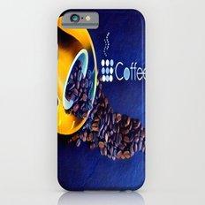 Coffee Beans iPhone 6s Slim Case
