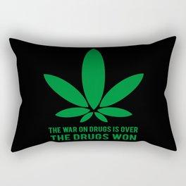 The Drugs Won (2) Rectangular Pillow