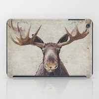 moose iPad Cases featuring Moose by Retro Love Photography