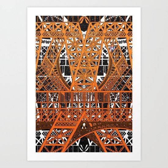 Eiffel (Feat. FalcaoLucas) Art Print