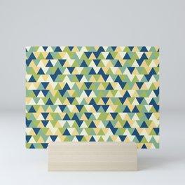 Rockpool Triangles Mini Art Print