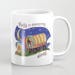 Gypsy Chicken in a covered Wagon Coffee Mug