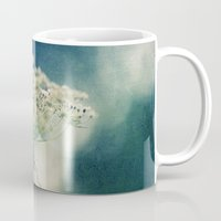 lace Mugs featuring Lace by Sandra Arduini