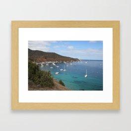 ships ahoy Framed Art Print