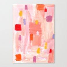 Put Sorrows In A Jar - abstract modern art minimal painting nursery Canvas Print