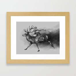 Nivôse Framed Art Print