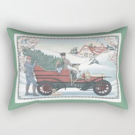 Seasons Greetings (from Steve and Bucky) Rectangular Pillow