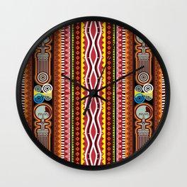 Duafe Motifs Wall Clock