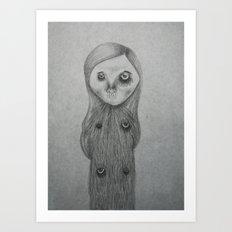i am what i hate the most Art Print