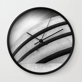 Guggenheim Museum in New York City Wall Clock
